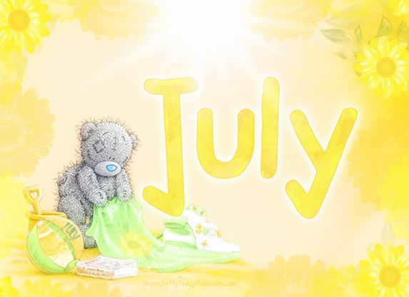 JULY ♡ Tatty Teddy tjn