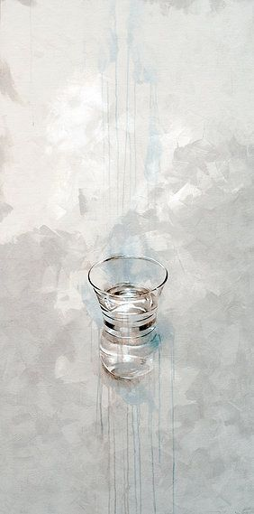Vaso de té | Nono Garcia mixta/lienzo mixed media/canvas