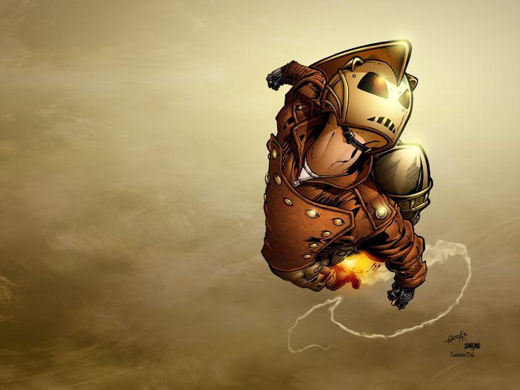 Geek Yum: Old School Iron Man (Rocketeer) Will now Get a Disney Rebooted Film