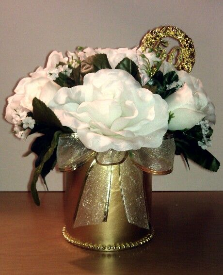 Flower Arrangements For 50th Wedding Anniversary: 94 Best 50th Anniversary Images On Pinterest