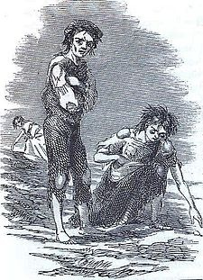 Irish Potato Famine...From 1845-1852 potato blight ruined potato crops across Ireland, causing over a million deaths by starvation and 1-2 million more to emigrate.