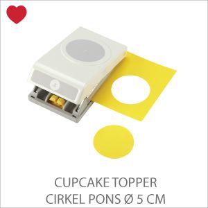 EK Success Cupcake topper pons 5 cm