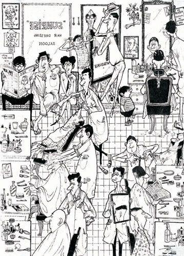 Mario de Miranda: The Indian Cartoonist.