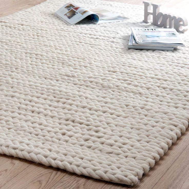 @Libelle Ớt @Libelle wit en warm! Carpet beige Stockholm 160x230 Maisons di Monde