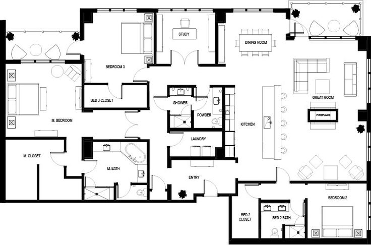 Best 25 condo floor plans ideas on pinterest apartment for Small condo plans