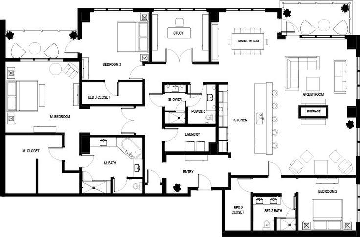 100 Small Condo Floor Plans Best 25 Duplex Plans