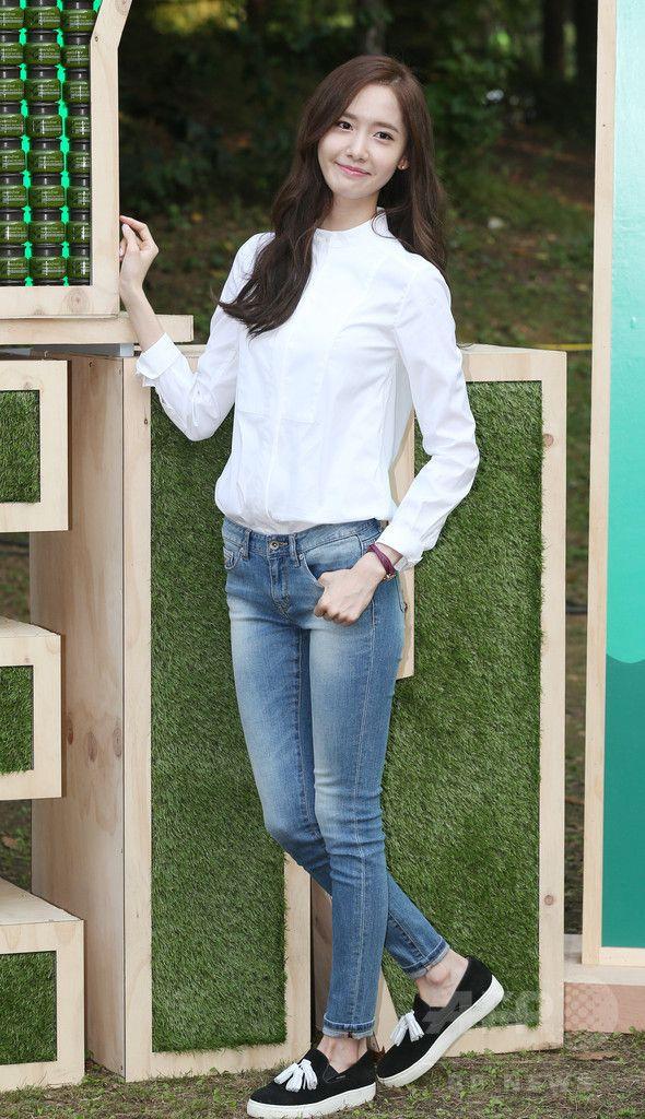 少女時代ユナ、さわやかファッションでイベントに登場 ソウル 国際ニュース:AFPBB News