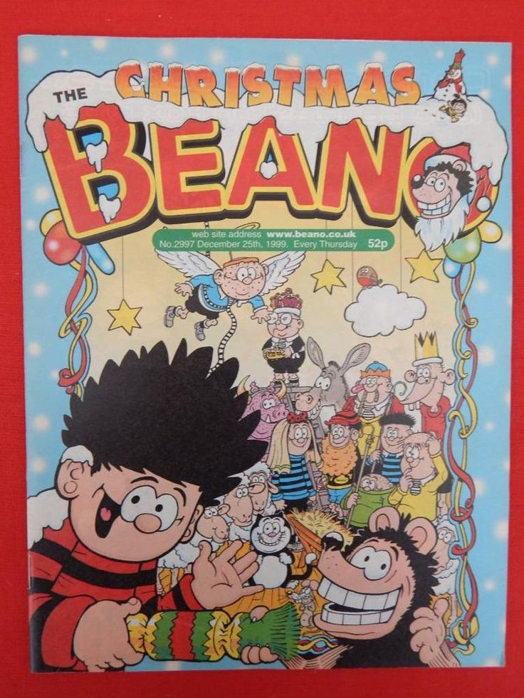 Beano Christmas/NY edition Comic 25th December 1999 - Nostalgic/retro gift - VGC