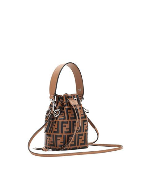 8b281f91fc Fendi Mon Tresor Small FF Bucket Bag in 2019