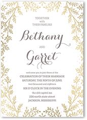 Vintage Wedding Paper Divas Invitations