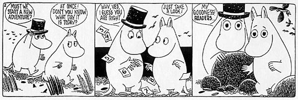 Moomin: The Complete Tove Jansson Comic Strip Vol. 5 « Read About Comics