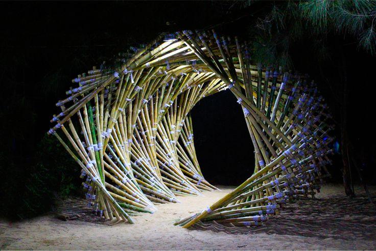 Pateel Vinay, una ola de bambú
