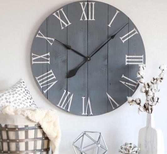 big farmhouse wall clock - Wall Clocks