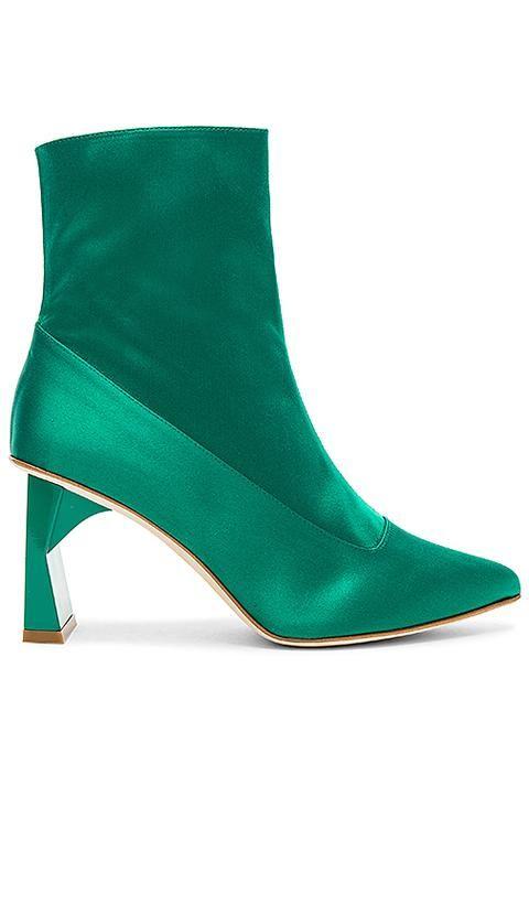 Alexis Bootie in Green