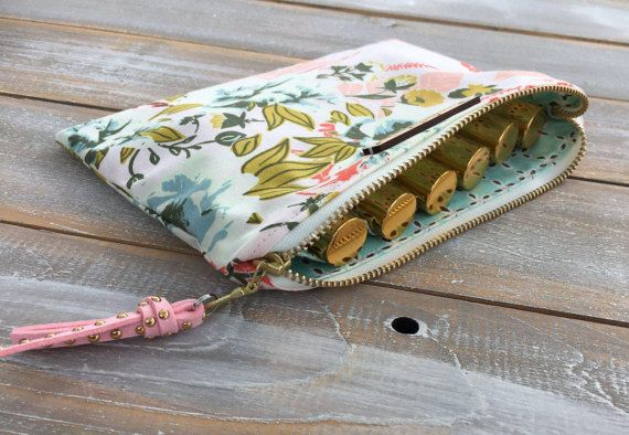 Roller Essential Oil Bag with Insert carrying by Cowgrlcreations
