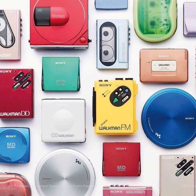 Sony Walkmans!