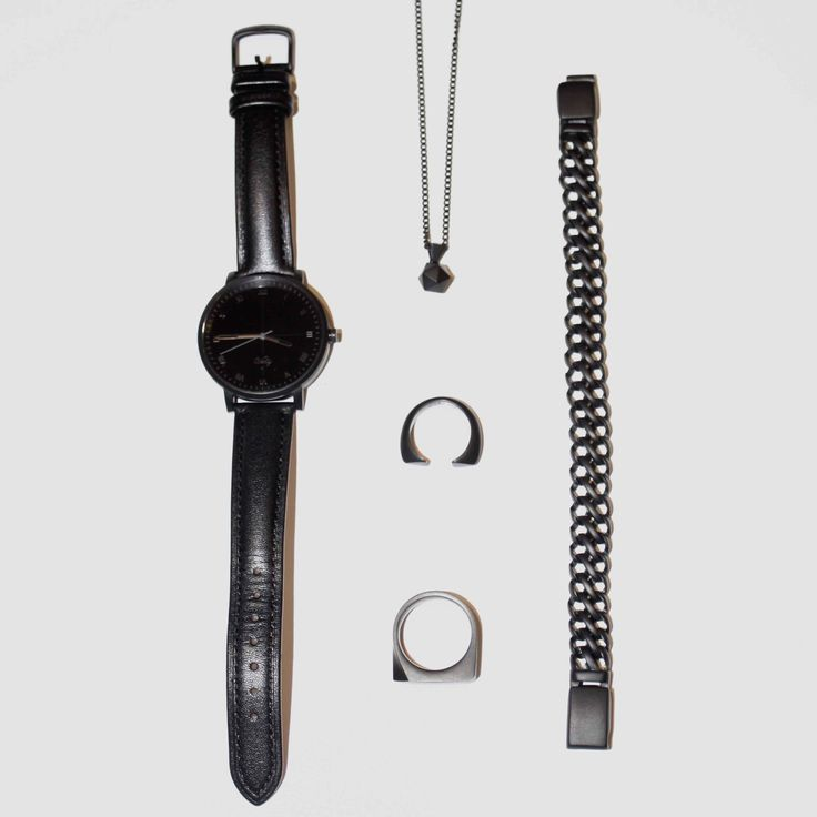Black is the new Black.  #kixsboutique #kixslifestyle #fashion #streetstyle #ootd #potd #bespoke #fashionblogger #black #leather #watch #necklace #jewelry #accessories #vitalyeveryday #monochromatic #loveblack #blackisthenewblack #bracelet #ring #bold #inspiration #time #shopping #stylish #picoftheday #epic #cool #new  Shop this #look at www.kixs.ca