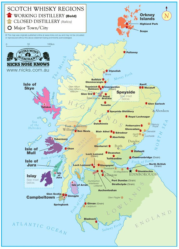 Celebrate #WorldWhiskyDay at Skene House HotelSuites Aberdeen, Scotland - map of whisky distilleries.  www.skene-house.co.uk