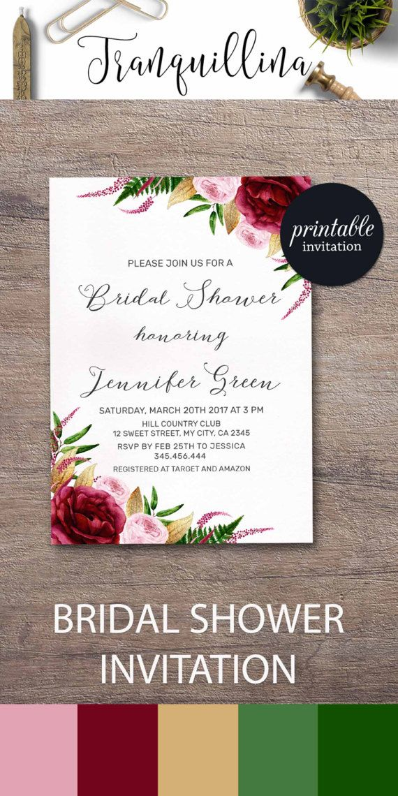 631 best Wedding Invitations, Bridal Shower Party Invitations ...