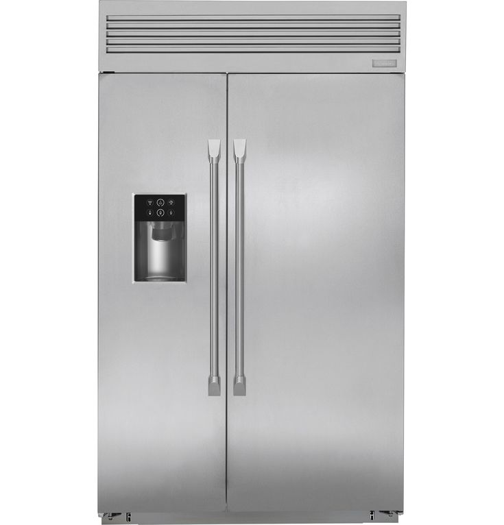 Zisp480dkss Monogram 48 Built In Professional Side By Refrigerator With