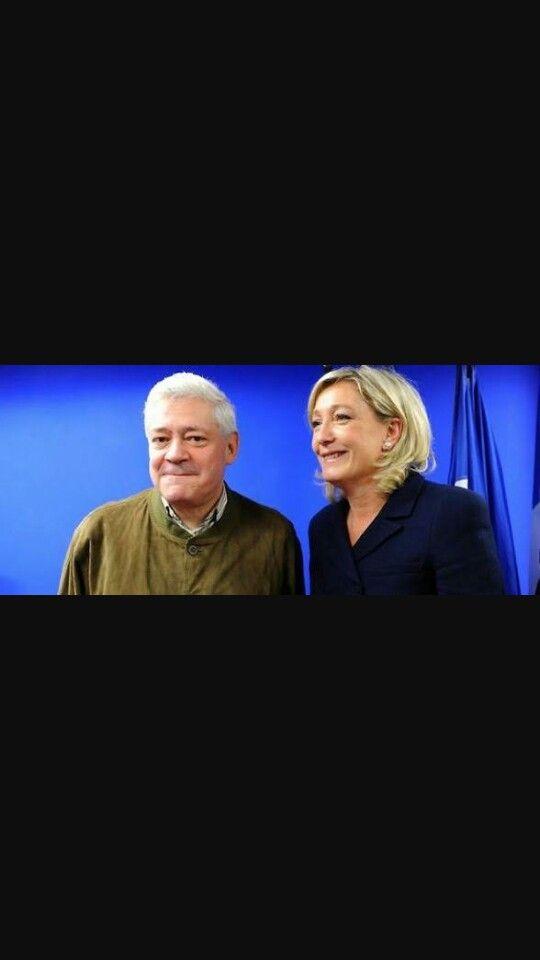 Mon Ami Bruno Gollnisch & Marine Le Pen.