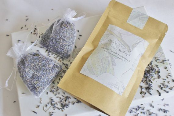 Lavender Drawer or Closet Sachets with Lavender Essential OilThese lovely scented sachets will have your clothes smelling fresh as a daisy.... oops I mean lavender.You will receive two scented lavender bags with dried organic lavender and added lavender essential oil for a long lasting scent. These little bags can be re-used - just add your own lavender (or other essential oil) once the scent has faded. Should last approximately 6 months once removed from the foil lined packaging.Made in…