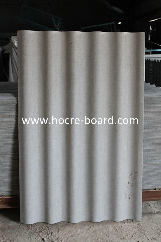 P177 Natural Fiber Cement Corrugated Sheet