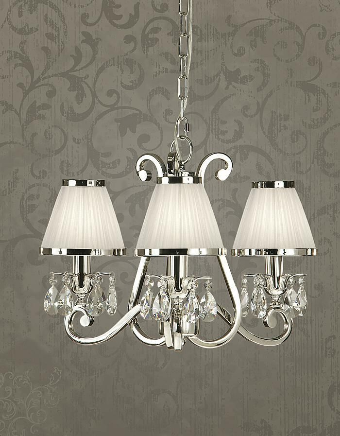 Luxuria 3 Light Chandelier