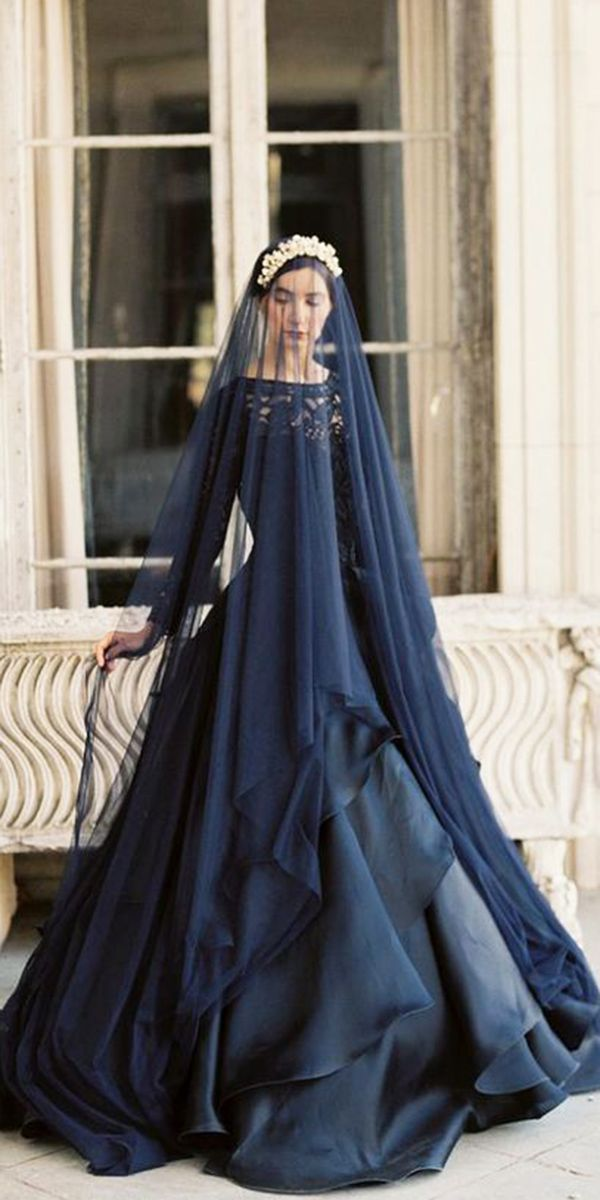 cfc88f3bded Dark Romance  24 Gothic Wedding Dresses