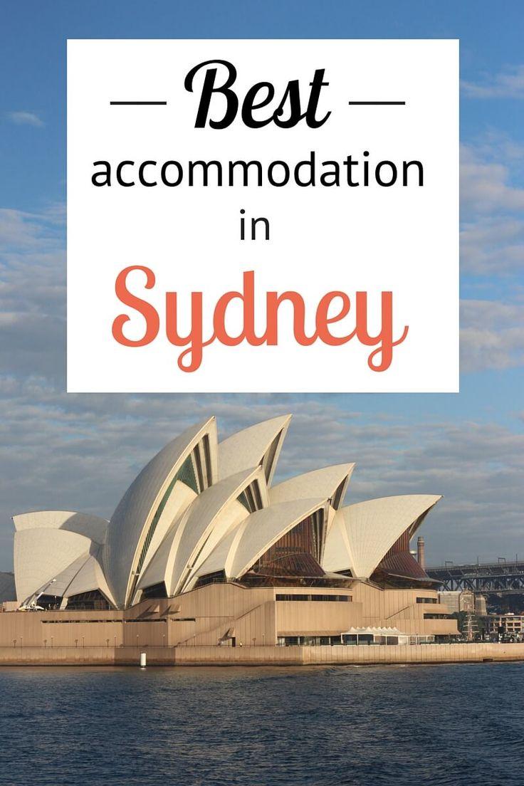 Best Accommodation in Sydney CBD (budget, mid-range, luxury)