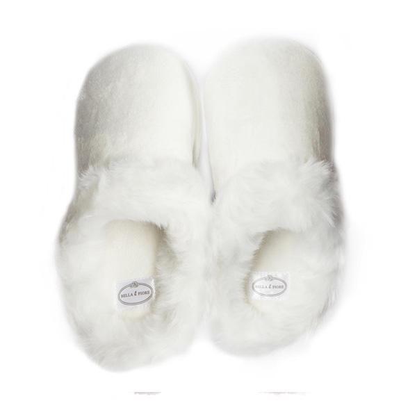 Mule Slippers - White | Slippers, Cute