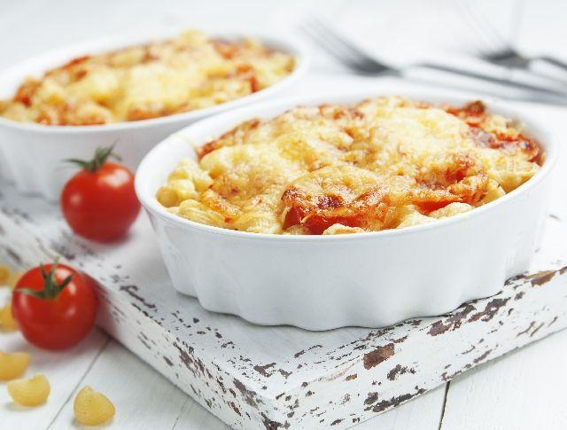 Csirkés-paradicsomos rakott tészta sajttal Recept képpel - Mindmegette.hu - Receptek
