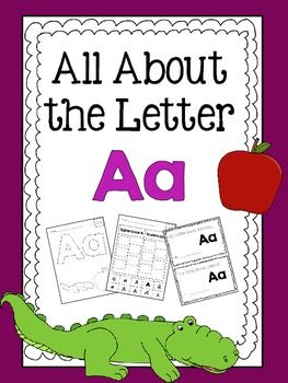 Letter A Activities | K 2nd Resources | Teaching letters