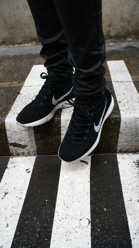 Nike Free Flyknit Chukka Black