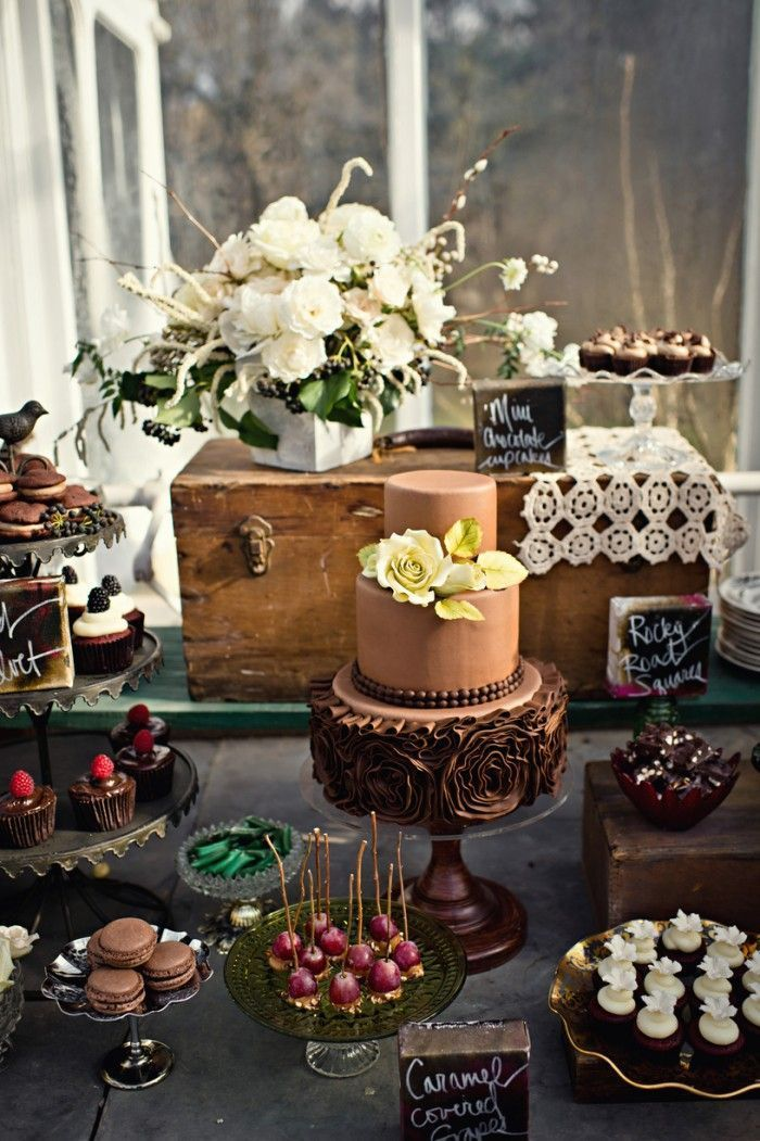 pictures of rustic wedding cake tables 100 amazing wedding dessert tables amp displays wedding 18430