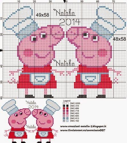 Ponto Cruz e Mais: Peppa Pig em Ponto Cruz