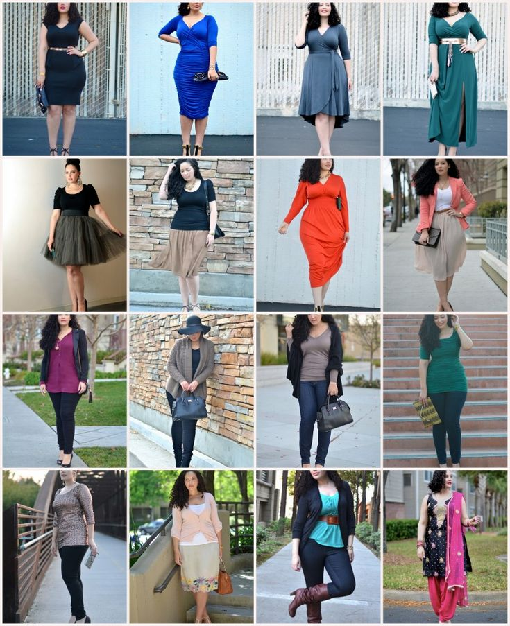 Big Bust Dressing Rules And Girl With Curves Outfit