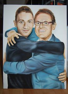 8 out of 10 Cats Painting Sean Lock Jon Richardson Celebrity ...