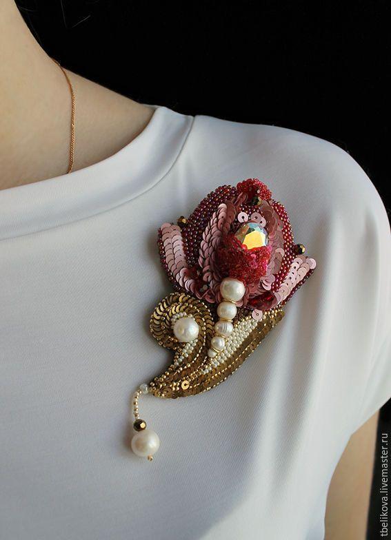 Купить Серьги Бабочки S2016-2 - бледно-розовый, серьги, серьги ручной работы