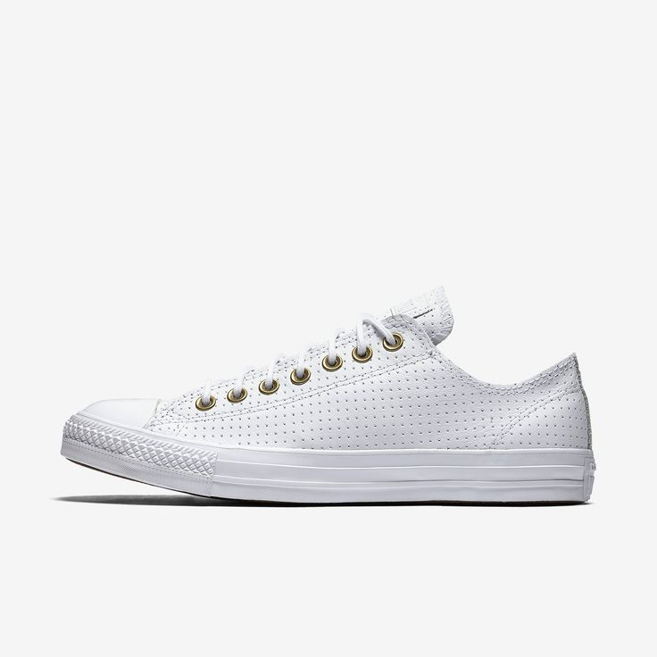 Converse - Chuck Taylor All Star Leather Low Top, in white, $70.00/sale: $49.97