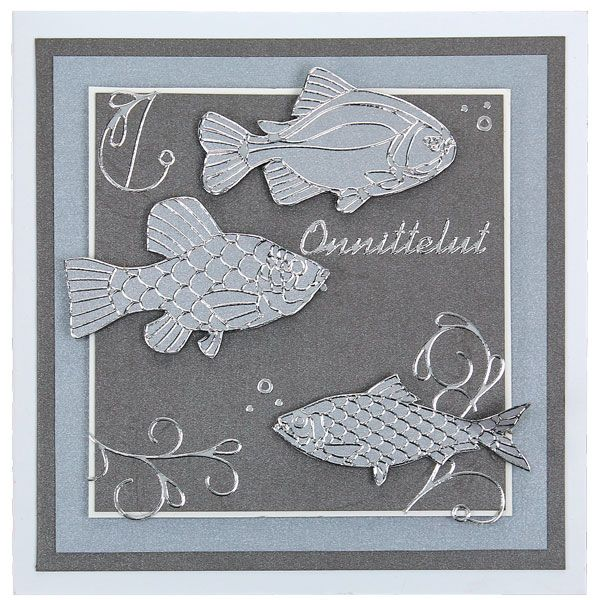 Onnittelukortti kalamiehelle/-naiselle. Tutustu Sinellin valtavaan ääriviivatarravalikoimaan. Tarvikkeet ja ideat Sinellistä!