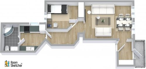 7 best images about floor plan designs on pinterest for 3d salon floor plans