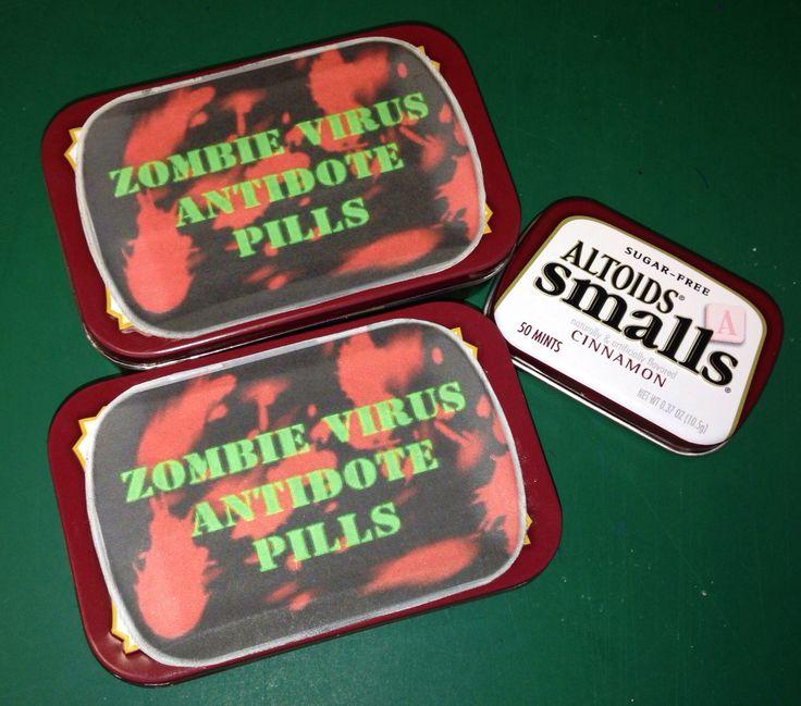 Altoids zombie survival kit