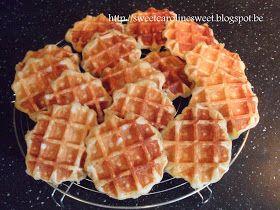** Sweet Caroline **: Luikse wafels of suikerwafels