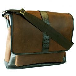 Canyon Trail Laptop Messenger by Dilana™ #travel #messenger #college #leather #slingpack #messenger