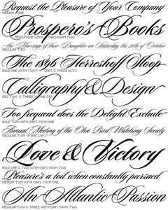 Tattoo Script Font Alphabet Caligrafia Pinterest Fonts Tattoo