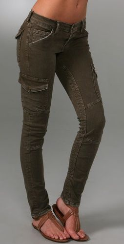 Pair these up with knee-high boots and you've got a great Laura Croft/Chloe (Uncharted 2) adventure look.