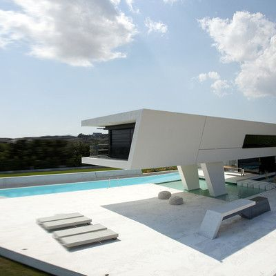 10 casas futuristas arquitectura dise o casas for Casas futuristas