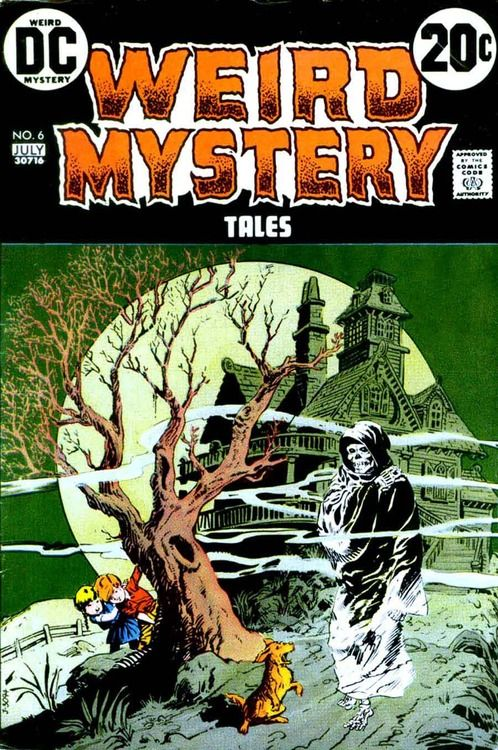 Weird Mystery Tales #6 (jul 1973). Cover by jack Sparling.