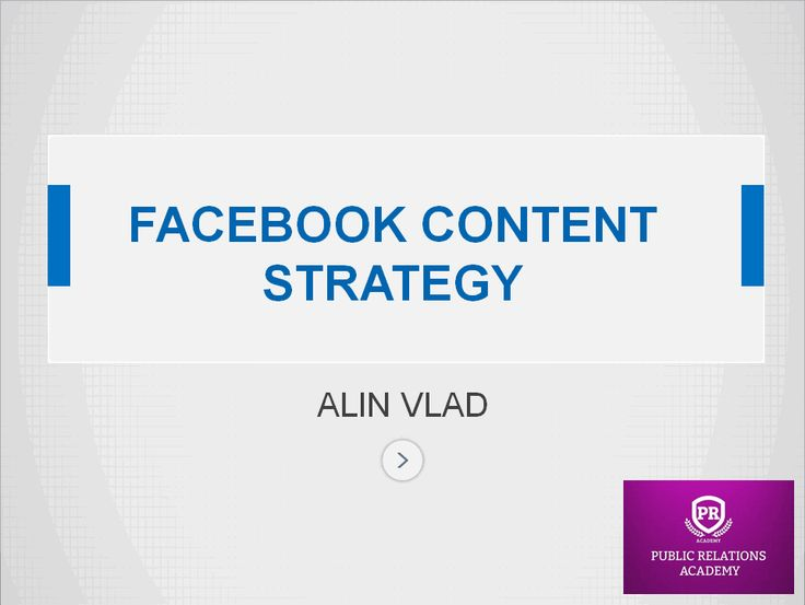 Cum Creezi o Strategie de Conținut pe Facebook - Inbound Marketing Blog